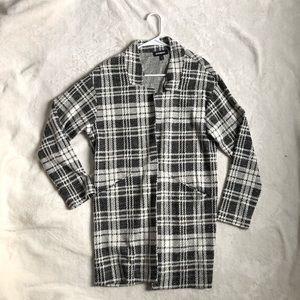Express Plaid Jacket/ Cardigan